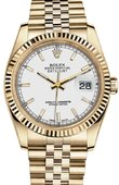 Rolex Datejust 116238 white Yellow Gold