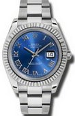Rolex Datejust 116334 blro Steel and White Gold