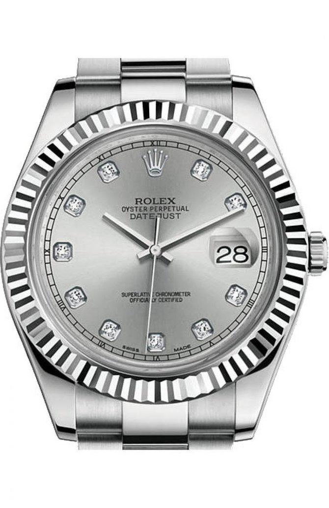 Rolex 116334 rdo Datejust II Steel and White Gold - фото 1