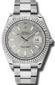 Rolex Datejust 116334 sio Steel and White Gold