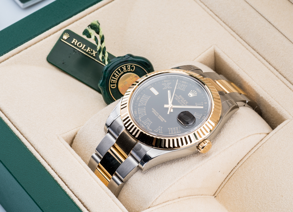 116333 bkrio Rolex Steel and Yellow Gold Datejust