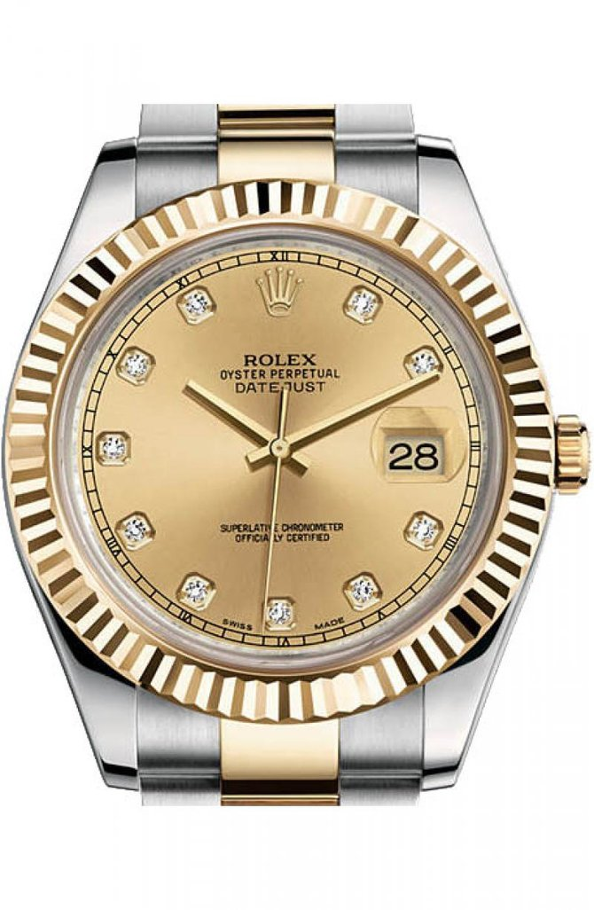 Rolex 116333 chdo Datejust Steel and Yellow Gold - фото 1