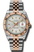 Rolex Datejust 116261 ssj Turn-O-Graph Steel and Everose Gold