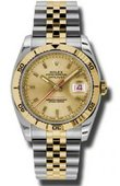 Rolex Datejust 116263 chsj Turn-O-Graph Steel and Everose Gold