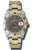 Rolex Datejust 116263 gso Turn-O-Graph Steel and Yellow Gold