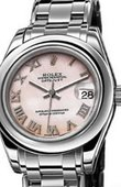 Rolex Datejust Ladies 81209 Pink MOP Special Edition White  Gold