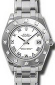 Rolex Datejust Ladies 81319 white Special Edition White Gold