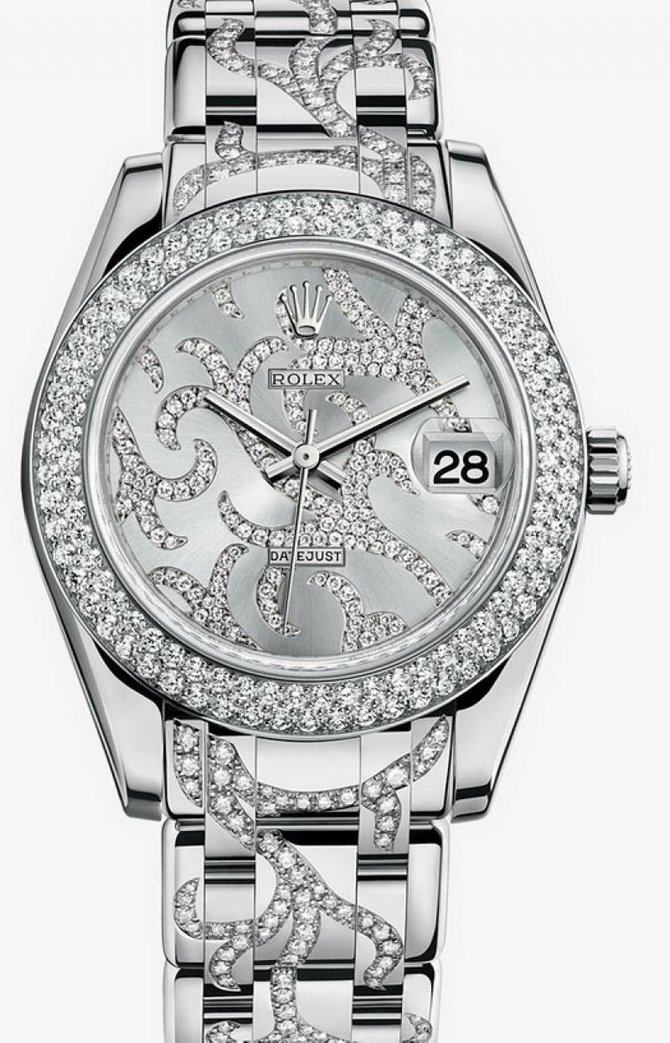Rolex 81339 flamme Datejust Ladies Special Edition White Gold - фото 1
