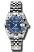 Rolex Datejust Ladies 178274 blrj Steel and White Gold