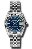 Rolex Datejust Ladies 178274 blsj Steel and White Gold