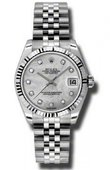 Rolex Datejust Ladies 178274 mdj Steel and White Gold