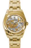 Rolex Datejust Ladies 81208 goldust dream Special Edition Yellow Gold