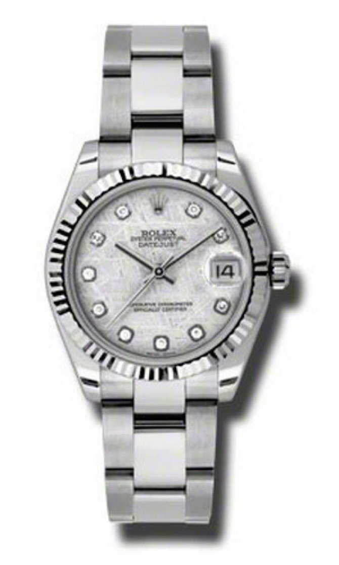 Rolex 178274 mtdo Datejust Ladies Steel and White Gold - фото 1