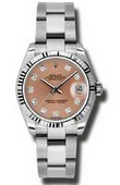 Rolex Datejust Ladies 178274 pdo Steel and White Gold