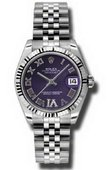 Rolex Datejust Ladies 178274 pdrj Steel and White Gold
