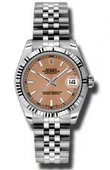 Rolex Datejust Ladies 178274 psj Steel and White Gold