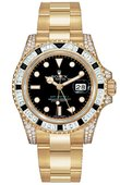 Rolex Часы Rolex GMT-Master II 116758SANR 40mm Yellow Gold