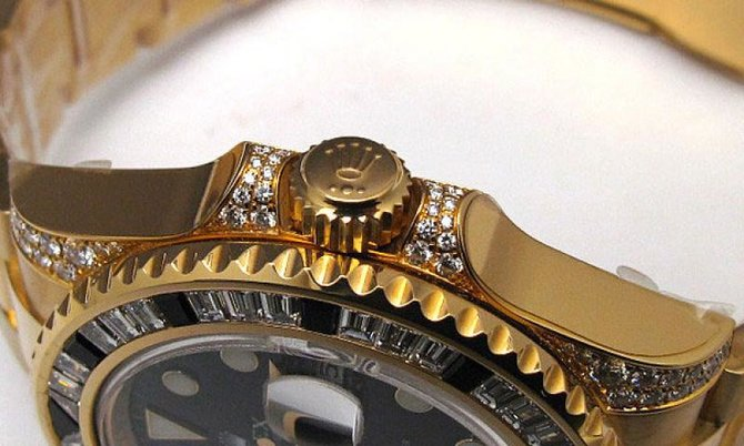 Rolex 116758SANR GMT-Master II 40mm Yellow Gold - фото 4