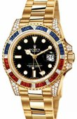 Rolex Часы Rolex GMT-Master II 116758SARU 40mm Yellow Gold