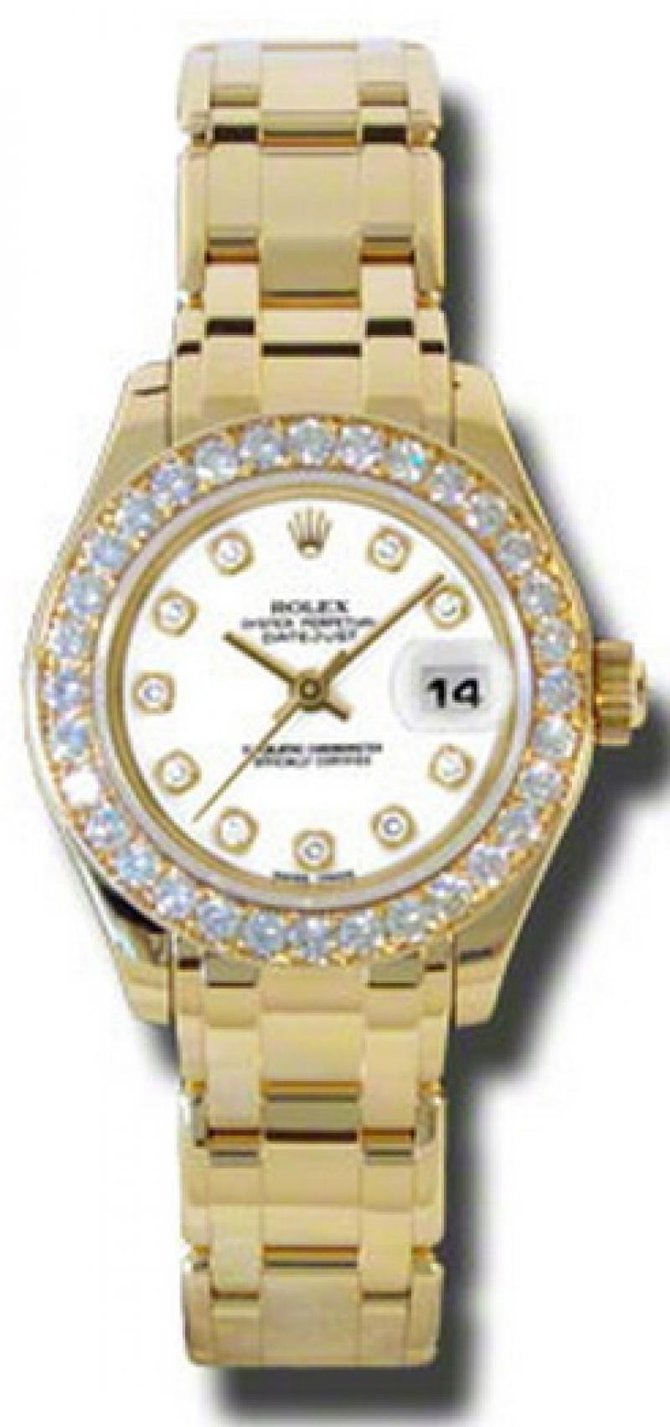 Rolex 80298 wd Datejust Ladies Pearlmaster Yellow Gold - фото 1
