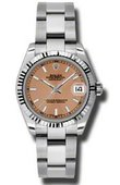 Rolex Datejust Ladies 178274 pso Steel and White Gold