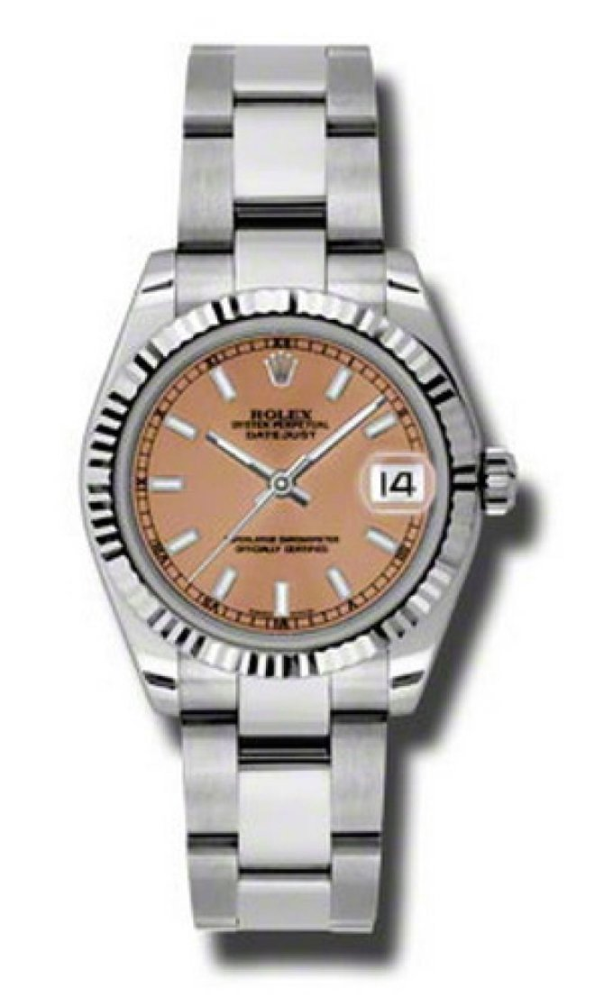 Rolex 178274 pso Datejust Ladies Steel and White Gold - фото 1