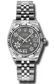 Rolex Datejust Ladies 178274 rfj Steel and White Gold