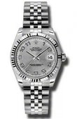 Rolex Datejust Ladies 178274 scaj Steel and White Gold
