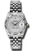 Rolex Datejust Ladies 178274 sdj Steel and White Gold