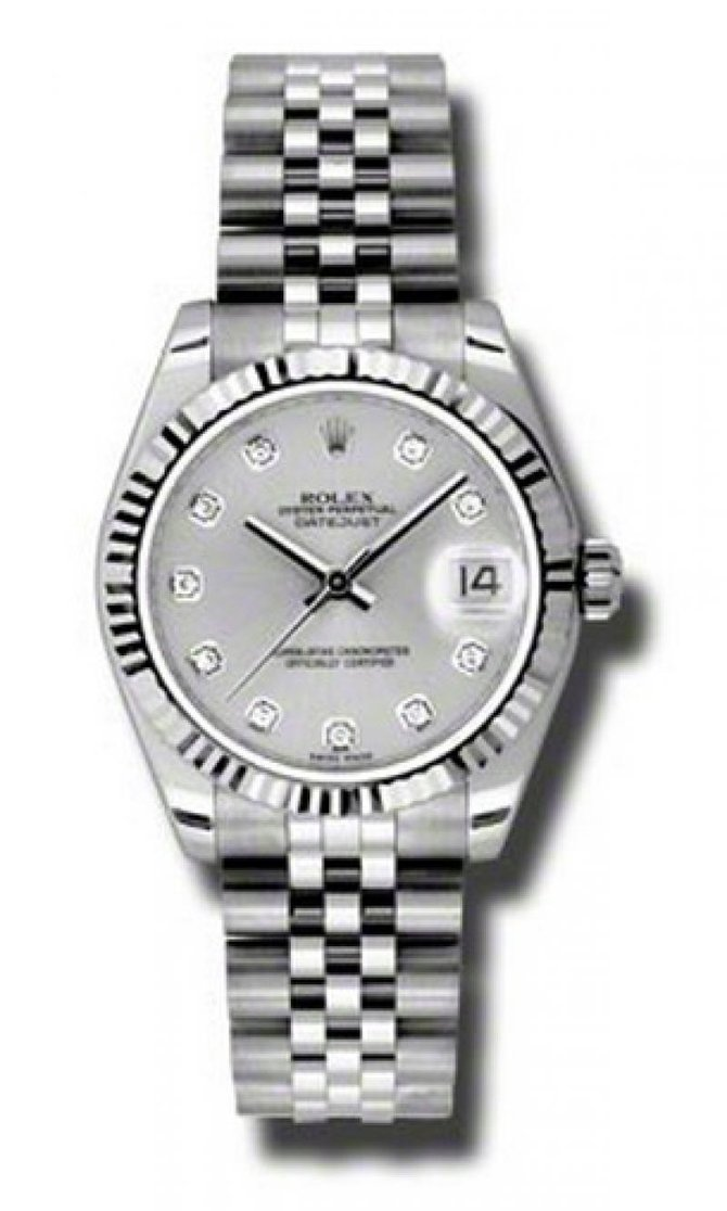 Rolex 178274 sdj Datejust Ladies Steel and White Gold - фото 1