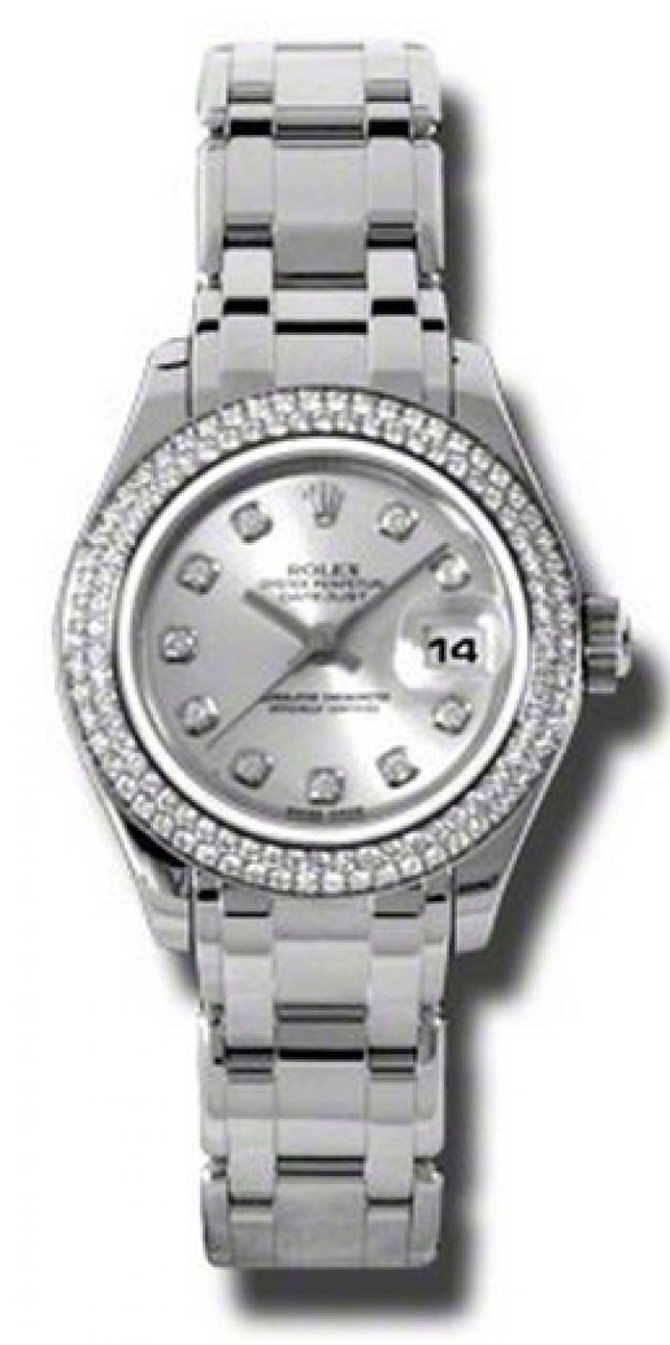 Rolex 80339 sd Datejust Ladies Pearlmaster White Gold - фото 1