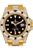 Rolex Часы Rolex GMT-Master II 116758SANR Oysterlock Karat 40mm Yellow Gold Jewellery