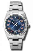 Rolex Oyster Perpetual 114200 blcao Air-King 34mm Steel