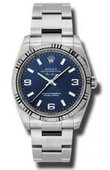 Rolex Oyster Perpetual 114234 blao Air-King 34mm Steel and White Gold