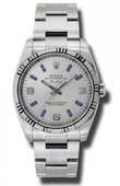 Rolex Oyster Perpetual 114234 sblio Air-King 34mm Steel and White Gold