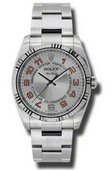 Rolex Oyster Perpetual 114234 scao Air-King 34mm Steel and White Gold