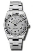 Rolex Oyster Perpetual 114234 sro Air-King 34mm Steel and White Gold