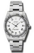 Rolex Oyster Perpetual 114234 wdo Air-King 34mm Steel and White Gold