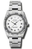 Rolex Oyster Perpetual 114234 wro Air-King 34mm Steel and White Gold