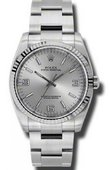 Rolex Oyster Perpetual 116034 saio 36 mm Steel and White Gold