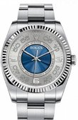 Rolex Oyster Perpetual 116034 sblao 36 mm Steel and White Gold