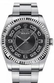 Rolex Oyster Perpetual 116034 bkwao 36 mm Steel and White Gold