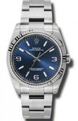 Rolex Oyster Perpetual 116034 blaio 36 mm Steel and White Gold