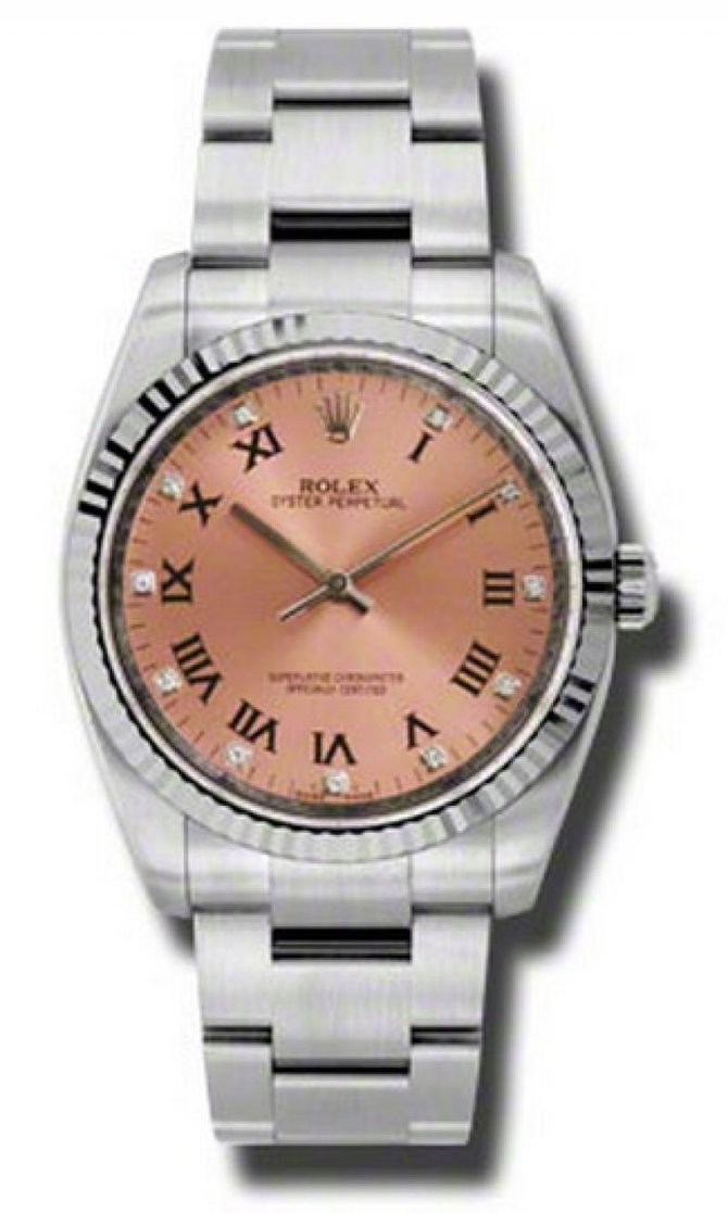 Rolex 116034 pdo Oyster Perpetual 36 mm Steel and White Gold - фото 1