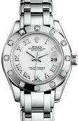 Rolex Datejust Ladies M80319-0040 Pearlmaster White Gold