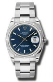 Rolex Oyster Perpetual 115210 blio Date Steel
