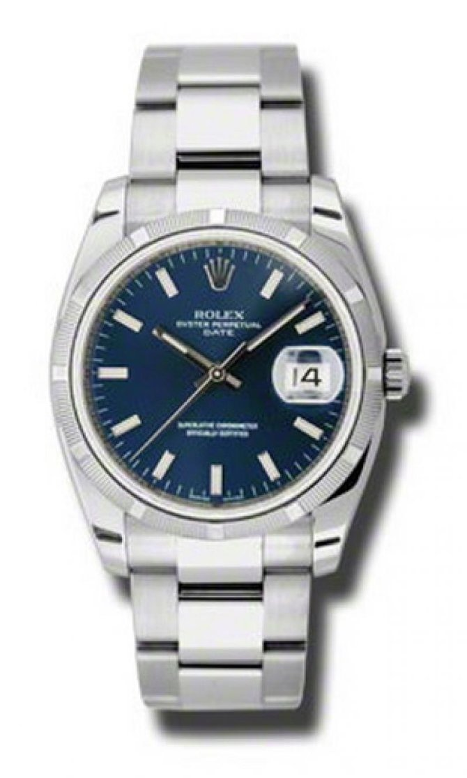 Rolex 115210 blio Oyster Perpetual Date Steel - фото 1