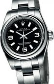 Rolex Oyster Perpetual 176200 Black Lady Oyster Perpetual Steel