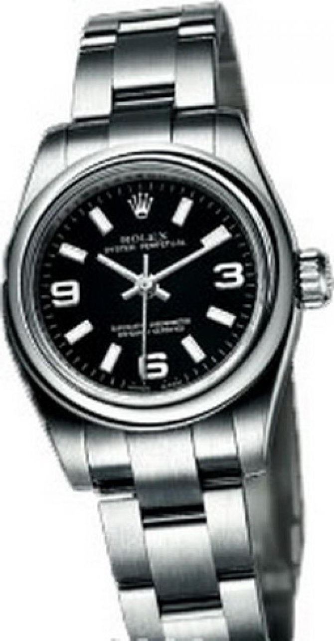 Rolex 176200 Black Oyster Perpetual Lady Oyster Perpetual Steel - фото 1