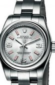 Rolex Oyster Perpetual 176200 Silver Lady  Steel